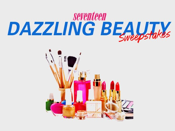 WIN Makeup For Life worth $25,000 from Seventeen Magazine
