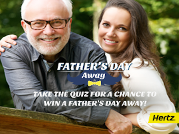 LAST DAY TODAY: WIN an Adventure Tailored to Your Dad's Interest