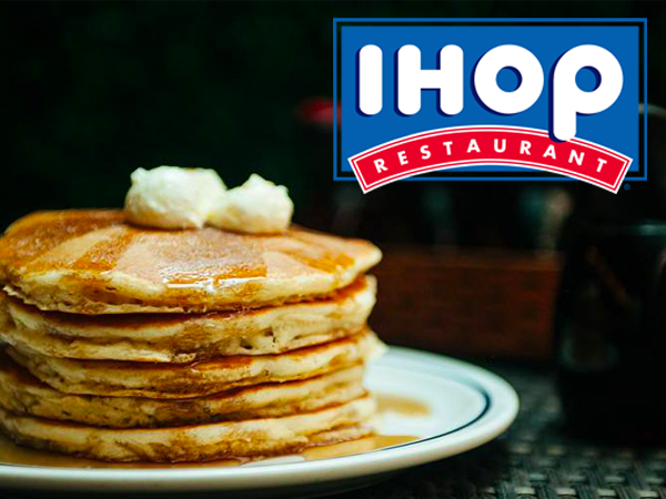 FREE Pancakes at participating IHOP