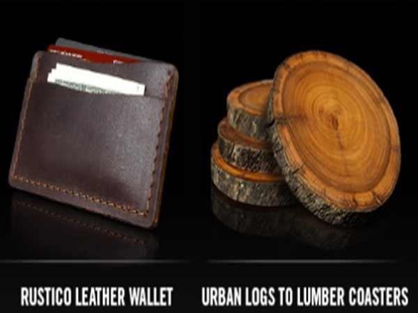 FREE Leather Wallet or FREE Lumber Coasters when you sign up to Copenhagen