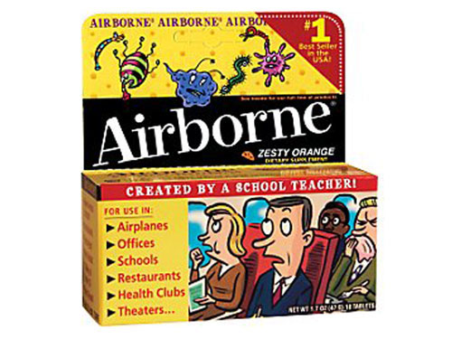 FREE Airborne Samples with sign up