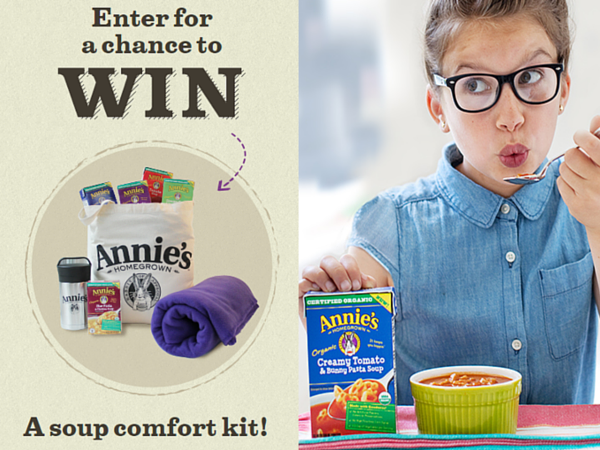 WIN Soup Comfort Kit from Annie's!