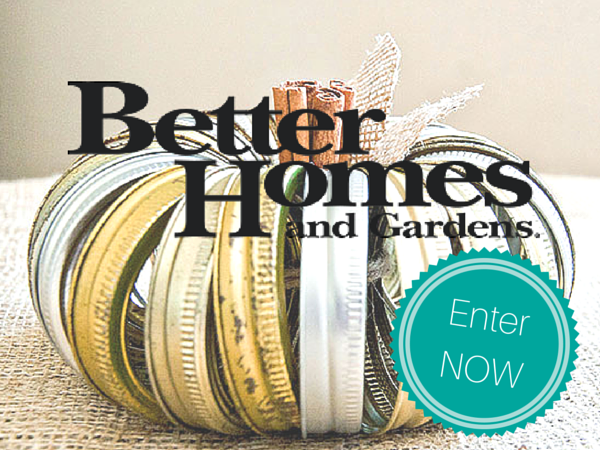 WIN Today's Prize from Better Homes!