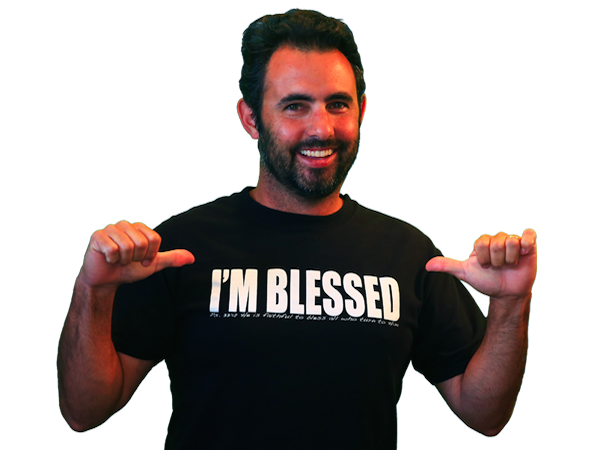 "FREE ""I am Blessed"" T-Shirt with sign up"
