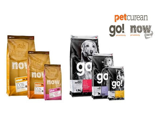 FREE Trial Bag of Petcurean Dog or Cat food with sign up