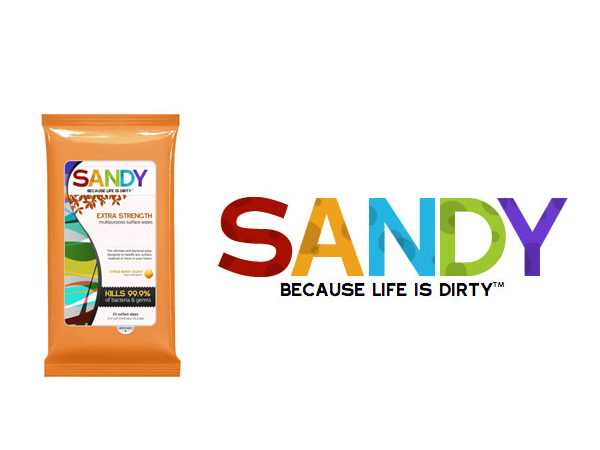 Free Sample Pack of Sandy's Multipurpose Wipes with sign up