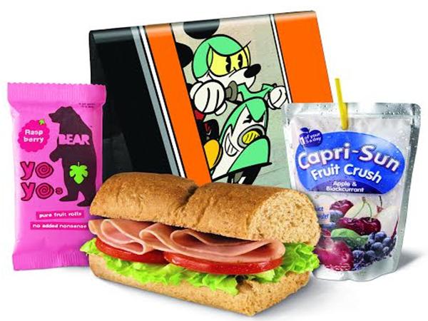 Free Disney Messenger Bag at Subway (w/Kids meal purchase)