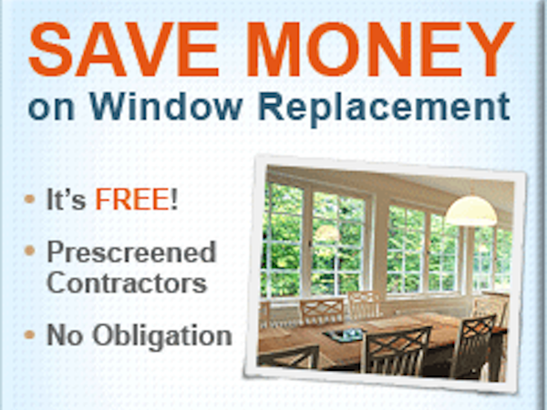 Save up to 500 on heating costs for Window replacement quote