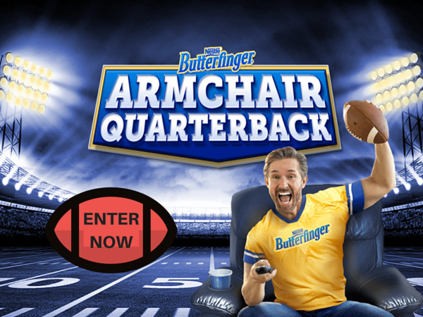 WIN Football Tickets from Butterfinger
