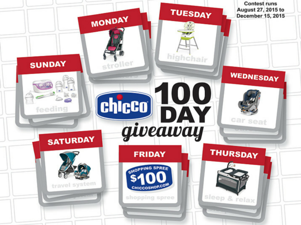 FREE Chicco 100 Day Giveaway!