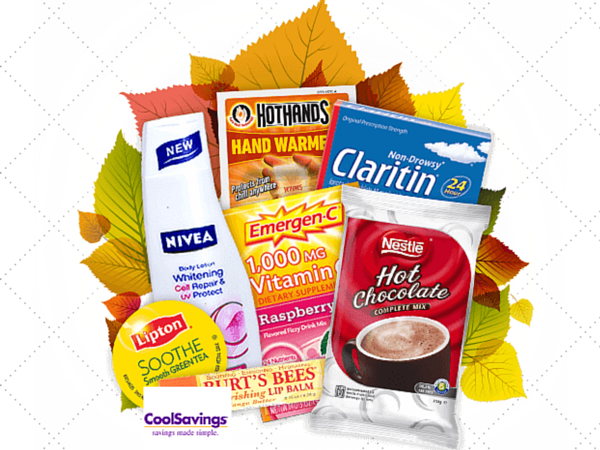 FREE Fall Samples from CoolSavings with sign up!