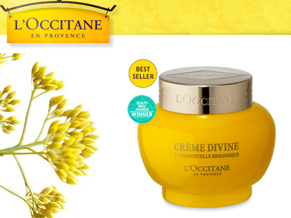 Win a L'Occitane Divine Cream