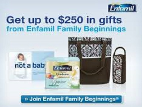 GET up to $250 worth of FREE GIFTS from ENFAMIL with sign up