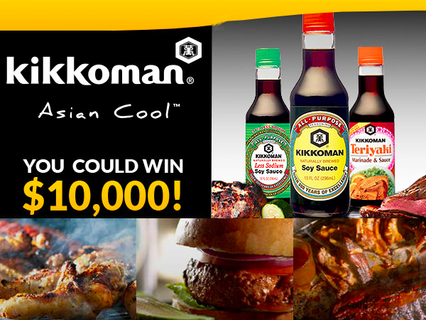 WIN $10,000 from Kikkoman®