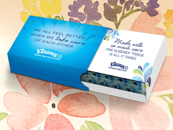 FREE Personalized Kleenex Care Pack with sign up