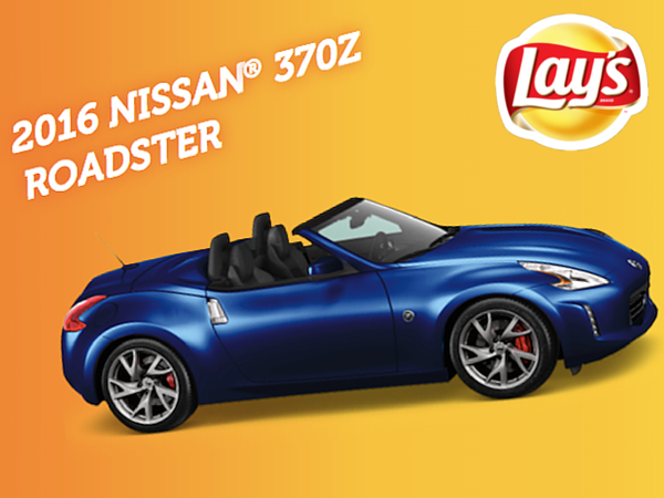EXPIRING SOON: WIN a Nissan® 37OZ Roadster from Lay's