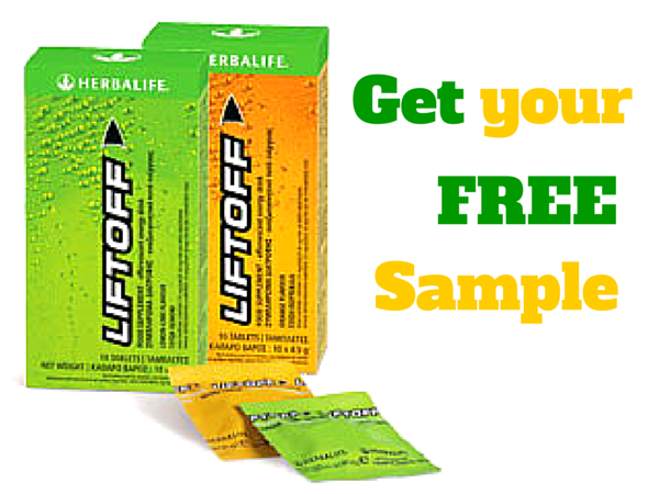 FREE Sample of Herbalife LiftOff with sign up
