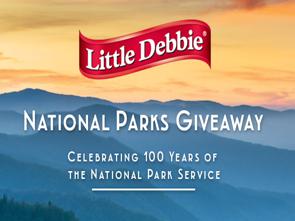 WIN in the National Parks Giveaway from Little Debbie®