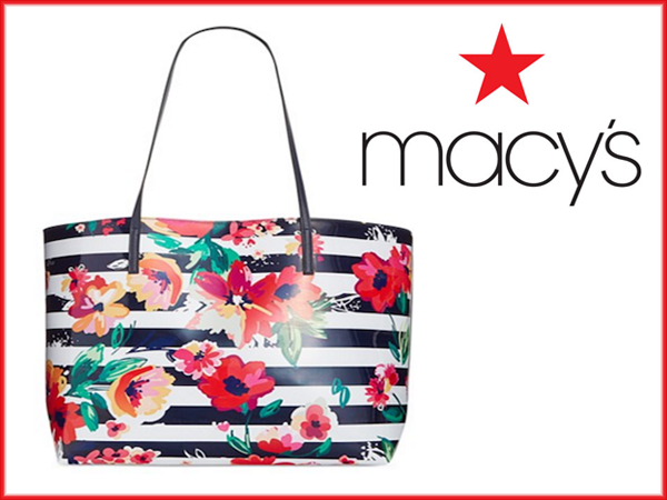 FREE Tote and Fragrance Samples with purchase from Macy's