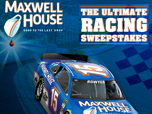 ENDING TODAY! WIN a Trip to the Big Race from Maxwell House