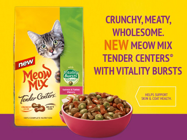 FREE Meow Mix Cat Food Sample with signup - BlissXO.com