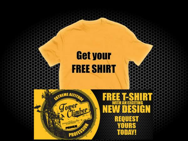 FREE T-Shirt from Primus with sign up