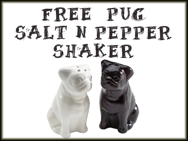 pug salt and pepper shakers free