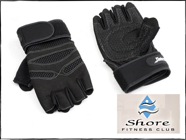 FREE Fitness Gloves from Shore Fitness Club with signup