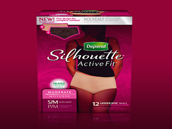 FREE Sample of Depend Sihoutte...