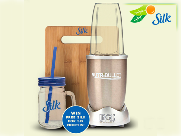 EXPIRING TODAY: WIN a Silk Smoothie Kit
