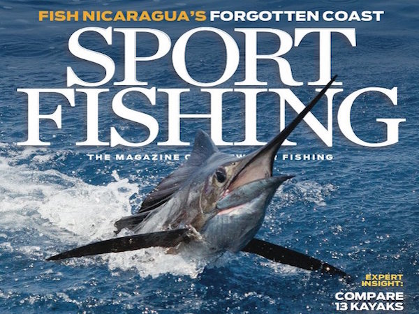 Free sport fishing magazine with sign up for Sport fishing magazine