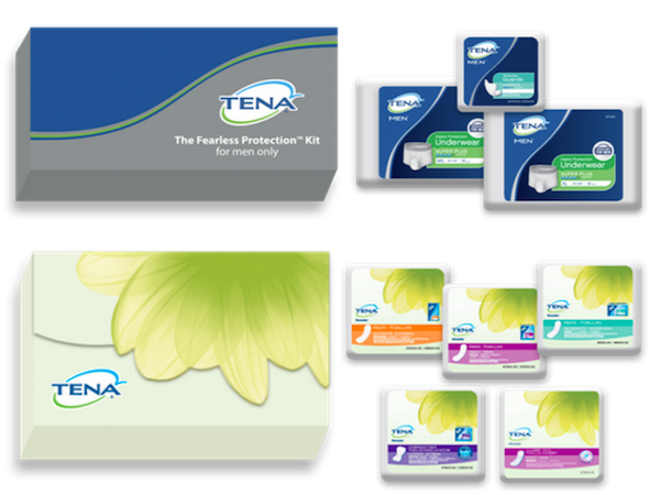 FREE Tena Sample Pack  with sign up