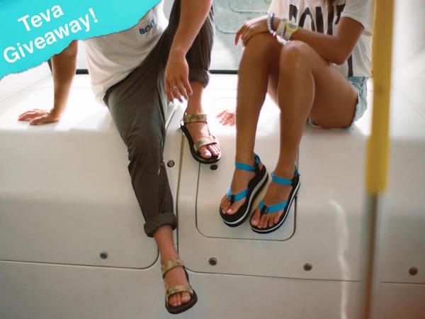 WIN a Pair of Teva Original Sandals from ShoeBuy