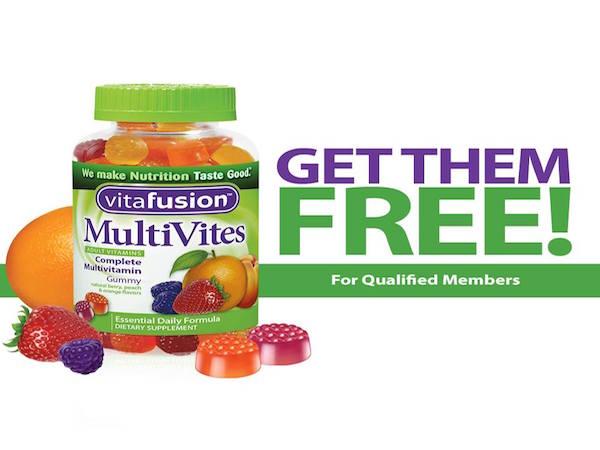 FREE vitafusion™ Gummy Vitamin with survey
