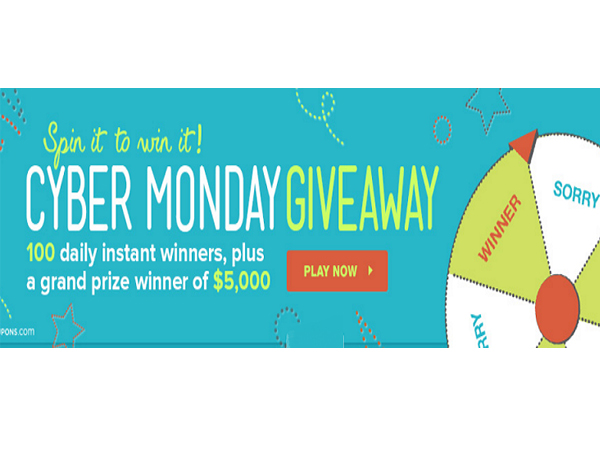 cyber monday sweepstakes win 5000 00 cash blissxo com 8939